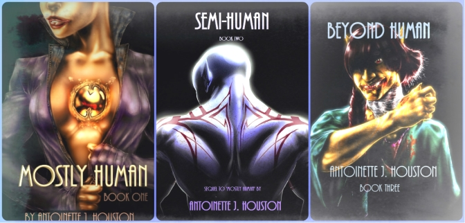 Mostly Human (#SpaceOpera) Trilogy