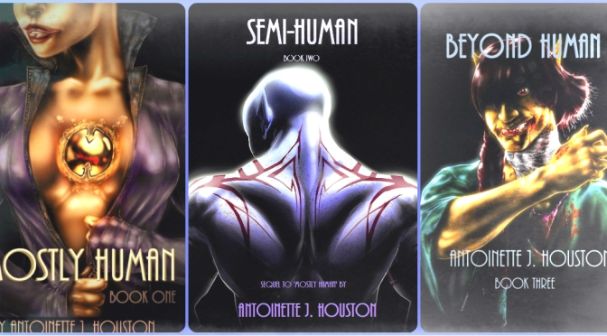 Goodreads giveaway for the #MostlyHumantrilogy