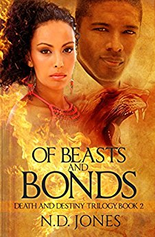 Of Beasts and Bonds: A Paranormal Romance (Death and Destiny Trilogy Book 2)
